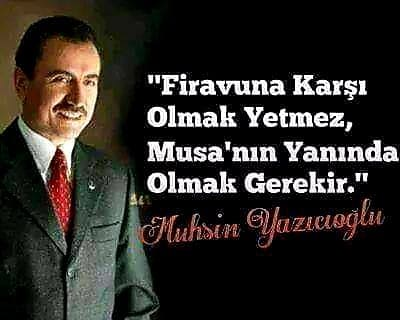 Muhsin Yazıcıoğlu Vatan Sözleri