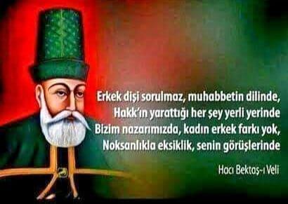 Özlü Hacı Bektaşi Veli Sözleri