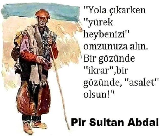 Pir Sultan Abdal Özlü Sözleri