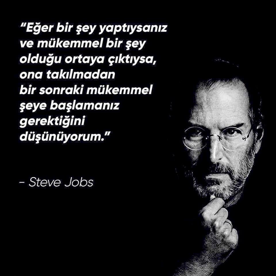 Steve Jobs Etkileyici Sözleri