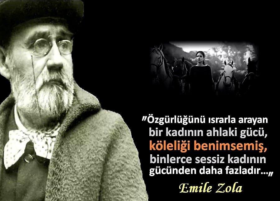 Emile Zola Resimli Sözleri
