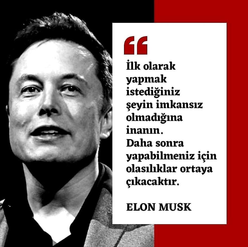 En Güzel Elon Musk Sözleri