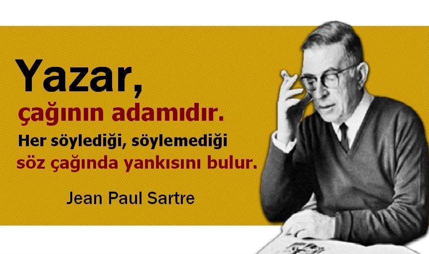 En Güzel Jean-Paul Sartre Sözleri