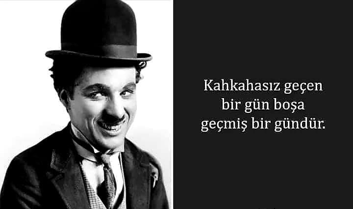 Etkileyici Charlie Chaplin Sözleri