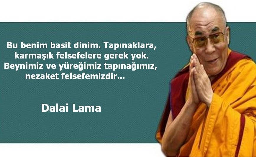 Etkileyici Dalai Lama Sözleri