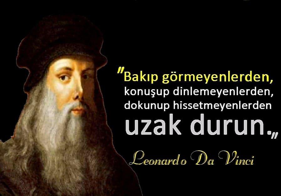 Etkileyici Leonardo da Vinci Sözleri