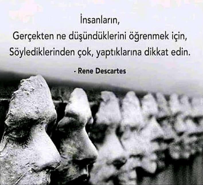 Etkileyici Rene Descartes Sözleri