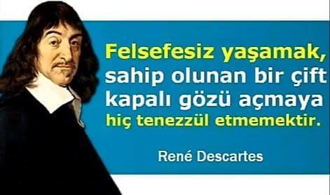 Filozof Rene Descartes Sözleri