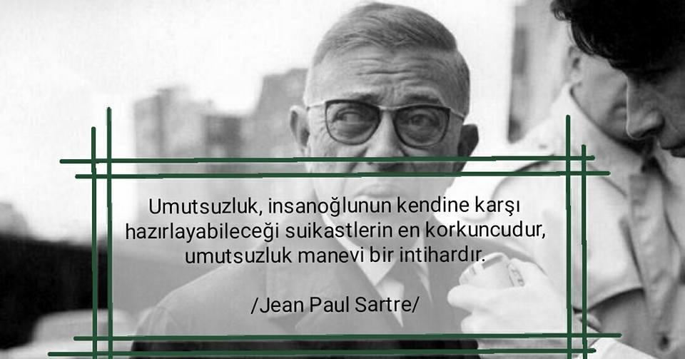 Jean-Paul Sartre Resimli Sözleri