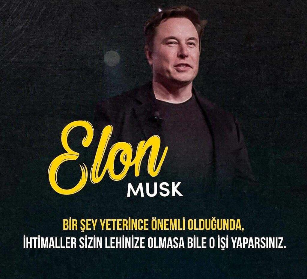 Kısa Elon Musk Sözleri
