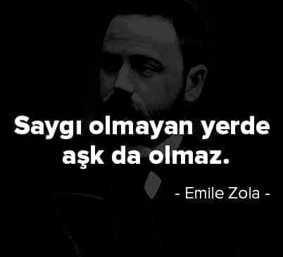 Kısa Emile Zola Sözleri