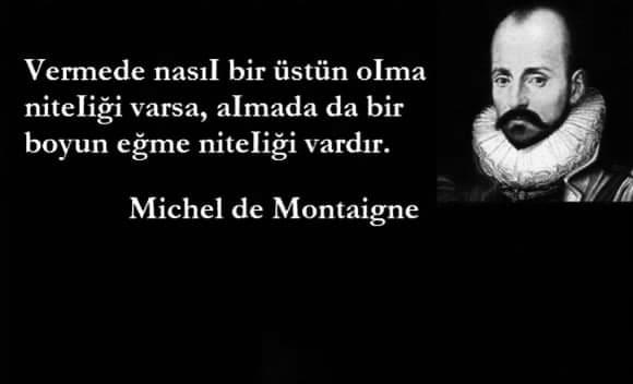 Montaigne Sözleri