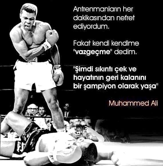 Muhammed Ali Etkileyici Sözleri