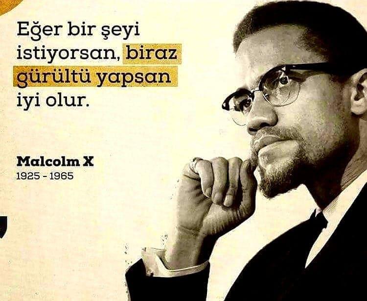 Anlamlı Malcolm X Sözleri
