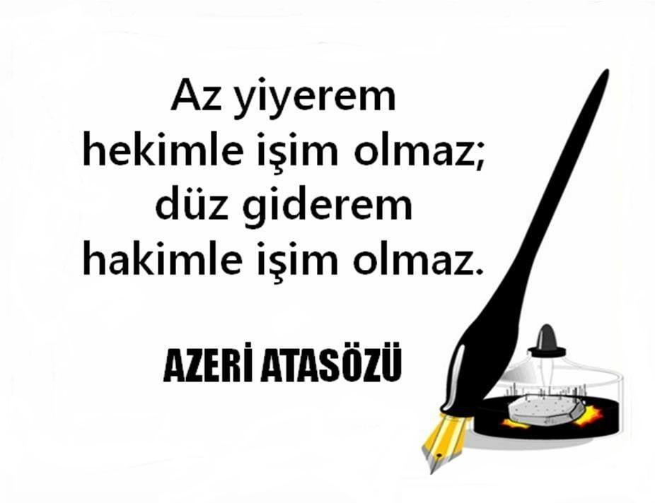 Resimli Azeri Sözler